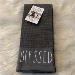Rae Dunn Set of 2 BLESED kitchen towels
